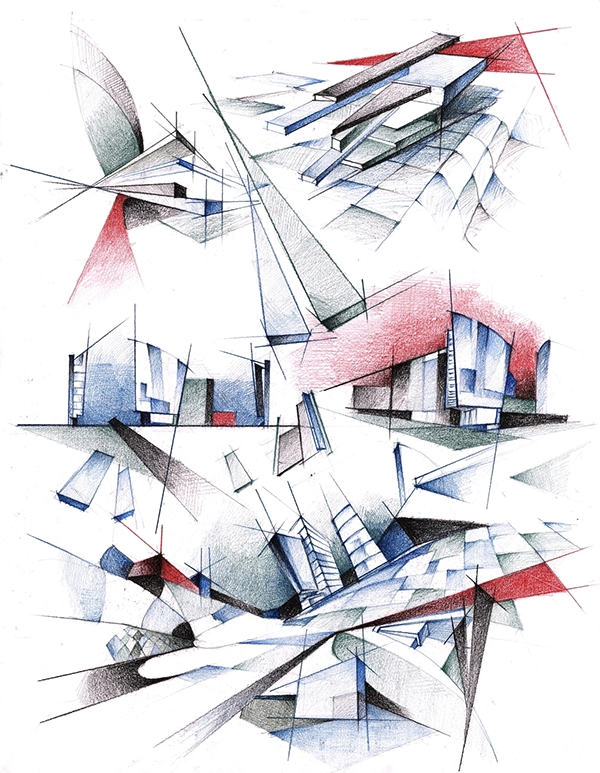 Architecture Posters On Behance