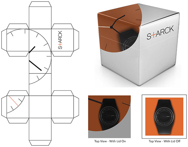 Packaging Design Philippe Starck Watches On Behance