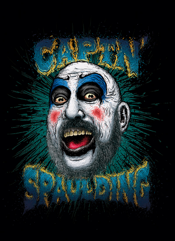 Captain Spaulding on Behance