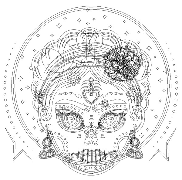 Free Coloring Pages Of Frida Frida Kahlo Coloring Pages