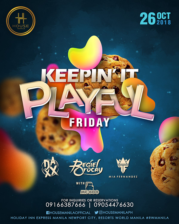 Club Poster: Keepin' It Playful Poster