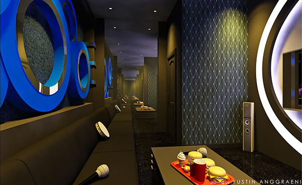 Karaoke room design on behance for Karaoke room design ideas