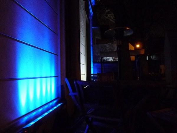 Iluminaci n led sal n de fiestas juana azurduy on behance for Iluminacion led salon