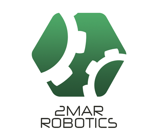 2mar Robotics Logo Design On Behance