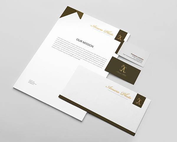 Amara Photo Logo Design On Behance
