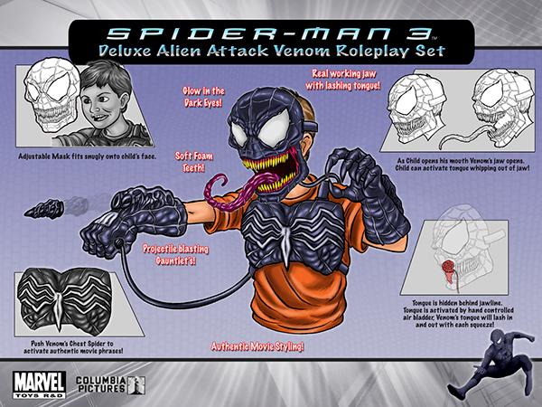 Venom Game Toy : Toy biz marvel toys various concepts designs on behance