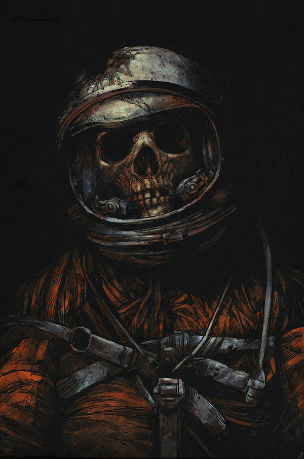 Dead astronaut V.2 on Behance