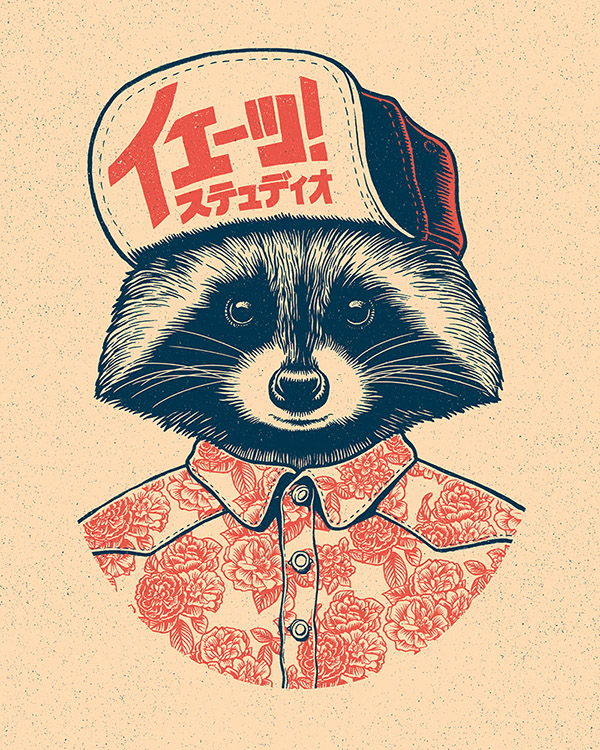 Raccoon by Yeaaah! Studio