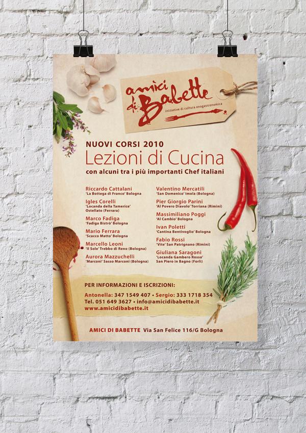 amici di babette - scuola di cucina - poster on pantone canvas gallery - Scuola Cucina Bologna