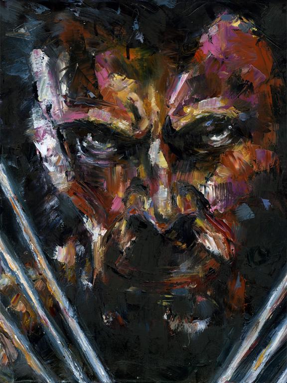 oil portrait Portraiture Avengers america captain america comics SuperHero iron man tony stark Hulk Bruce Banner Thor asgard