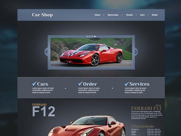 f4127cc4963c94 Car Shop web design ( Recently working on ) on Behance