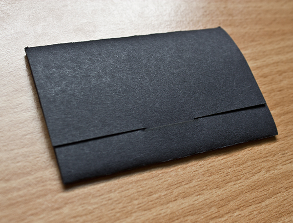 Scanimated business card on behance closed black folder reheart Choice Image