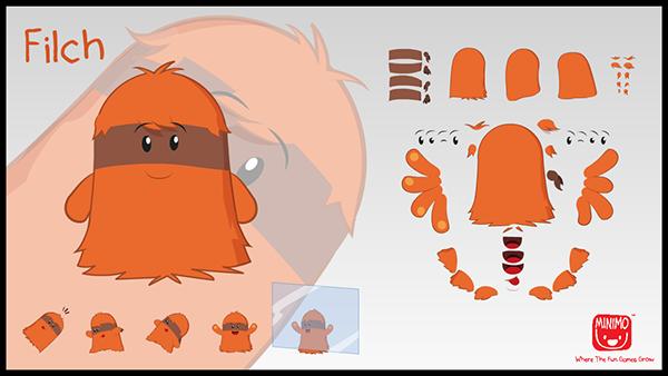 minimo serious game flash animation Character nickelodeon
