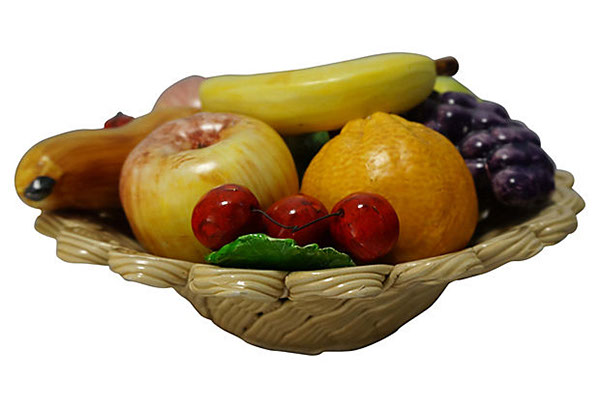 Italian Ceramic Fruit Bowl On Behance