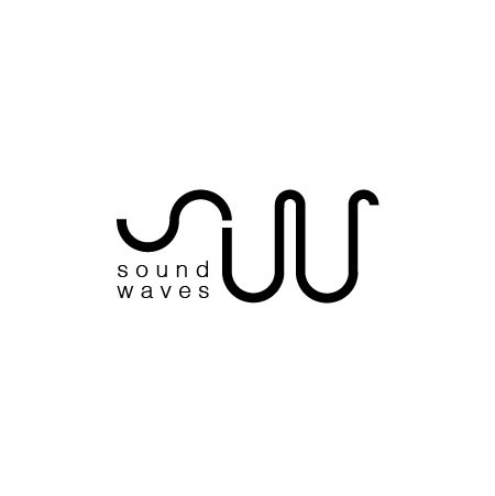 sound wave event logo on pantone canvas gallery