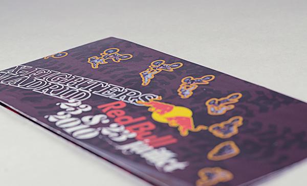 Red Bull X-Fighter Motocross typo trash mood terre