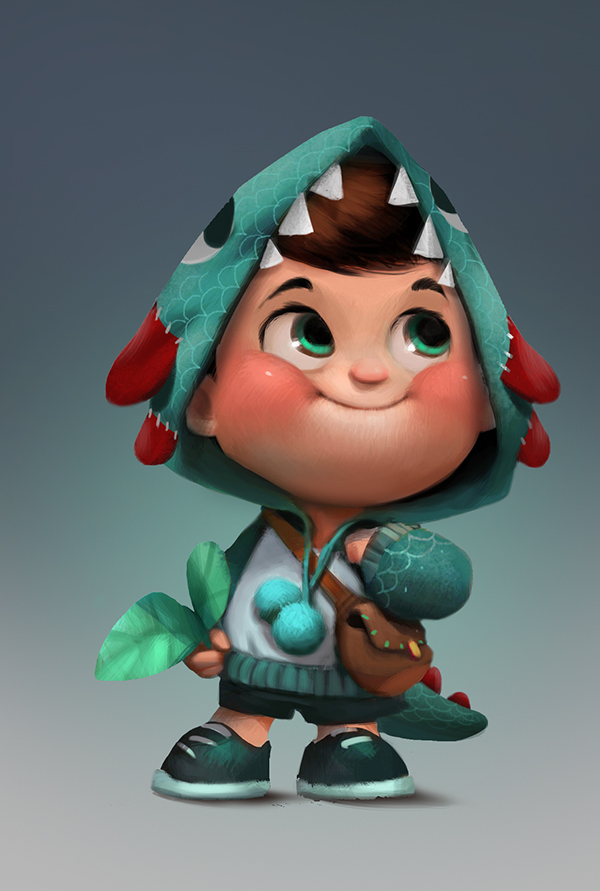 Behance Character Design Served : Hisense character design on behance