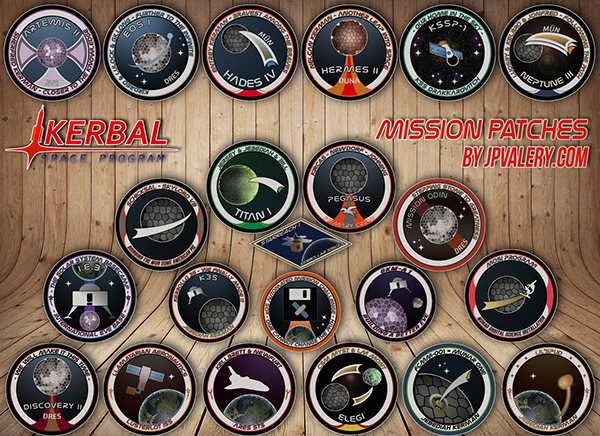 Kerbal Mission Patches On Behance