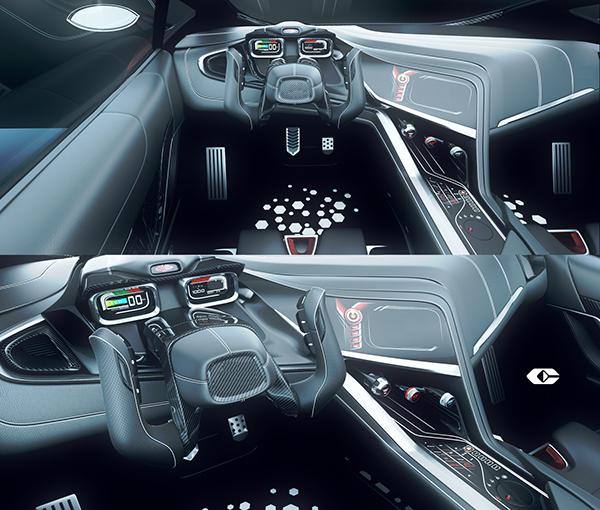 tricar concept car invisium on behance. Black Bedroom Furniture Sets. Home Design Ideas