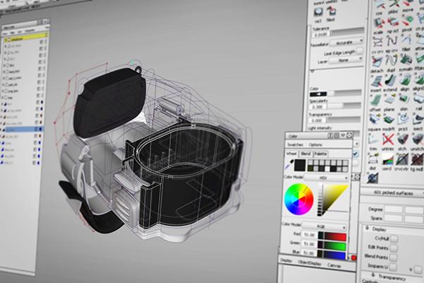 Symbol Technologies CRS-1 Ring scanner on Pratt Portfolios