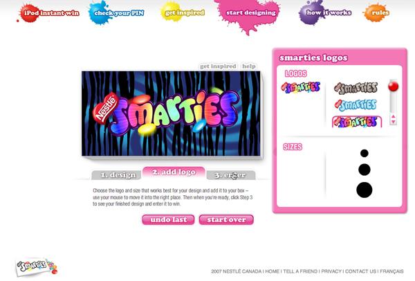 Smarties: Show me Your Colours on Behance Smarties Box Design