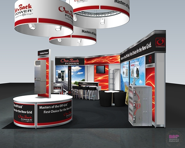Trade Show Booth Graphics : Intersolar europe trade show booth graphics on behance
