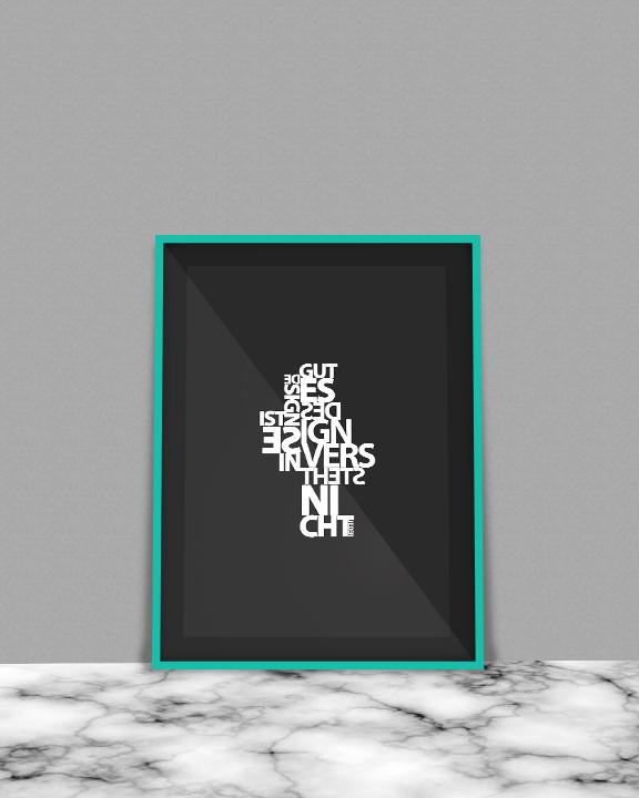 free psd poster Mockup Webdesign graphic mock up frame