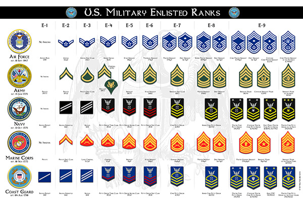 Image result for Enlisted Ranks