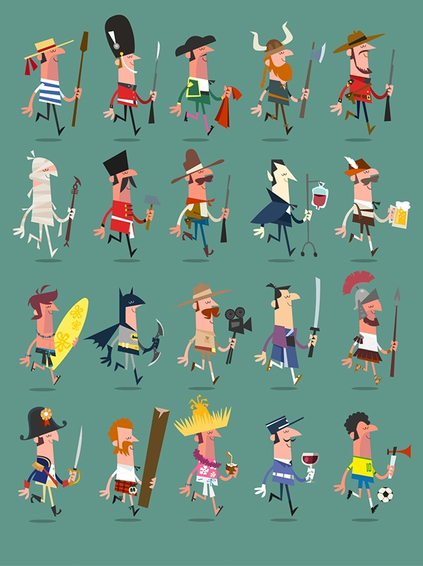 Character Design Work : Character design work on behance