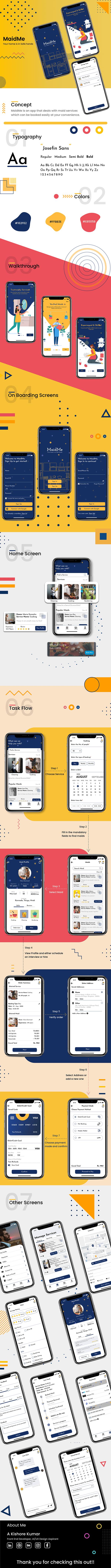MaidMe iOS Portfolio