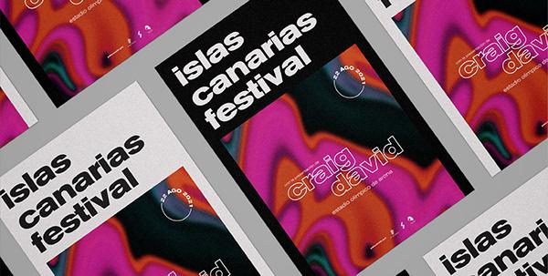 Islas Canarias Festival - Poster Proposal