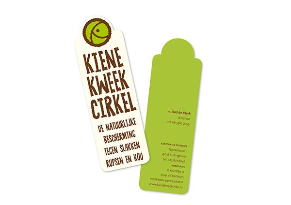 Kiene Kweekcirkel grafische vormgeving huisstijl logo