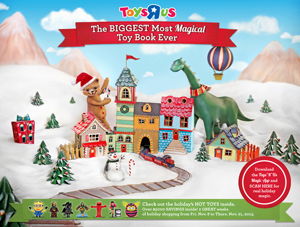 im so excited to finally be able to share it its the first time toys r us worked with an artist to create their cover - What Time Does Toys R Us Close On Christmas Eve