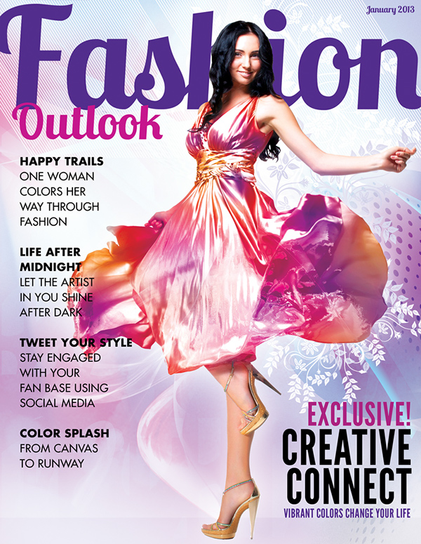 Fashion Outlook Magazine Cover Concept On Behance