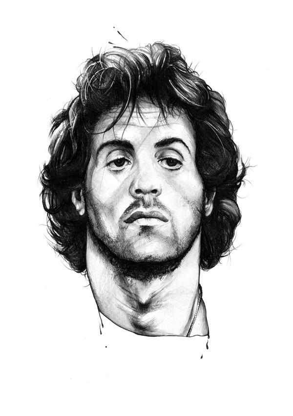 r is for rambo on behance