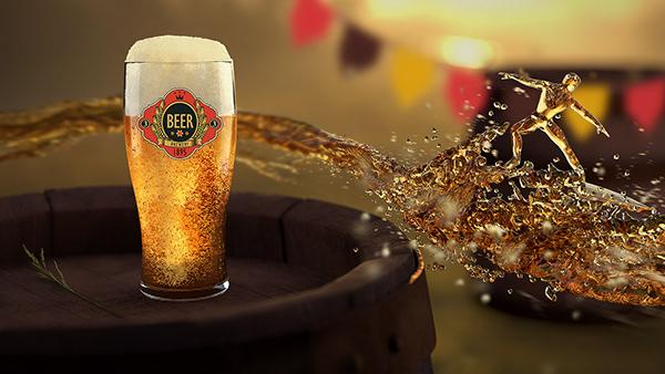 Beer Surfing 3D