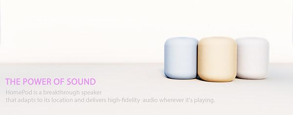 Apple HomePod - fan-made project