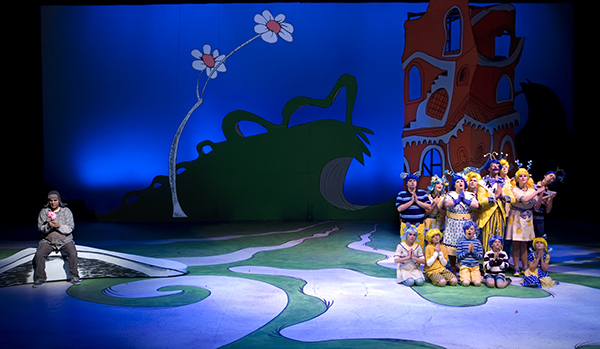 Scenic Design For Quot Seussical The Musical Quot On Behance
