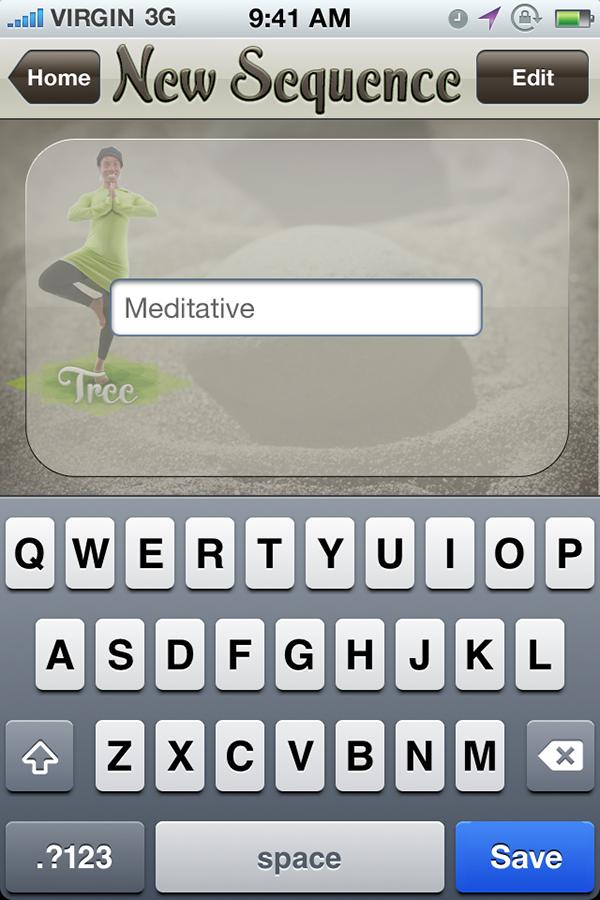 Yoga,iphone,Routine