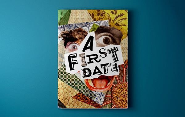 Book Cover Collage Poster : Collage booklet poster on behance