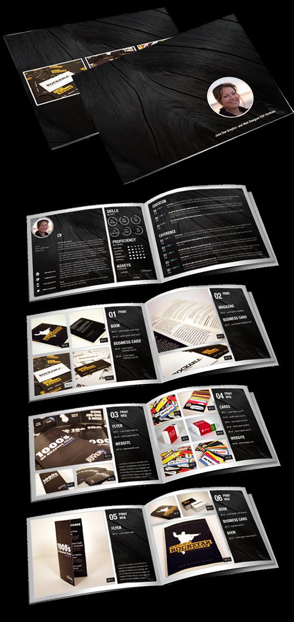 Creative Resume CV Portfolio on Behance