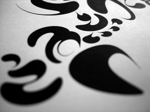 Typeface penmanship Chinese fonts letter symbol graphic ink Experimental Typography oriental Chinese typography