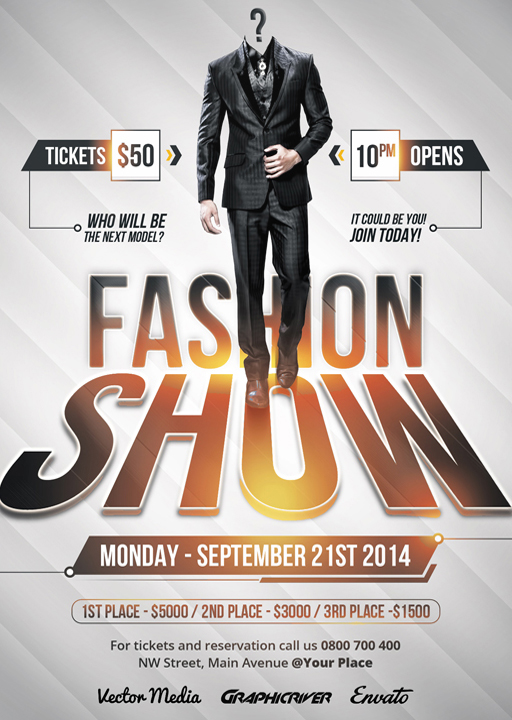 Fashion Show - Flyer on Behance