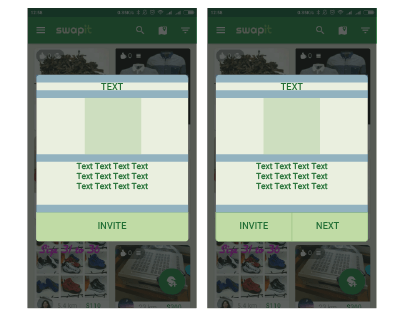 Swapit startup dialog Onboarding ux UI redesign swapit app swap it hk