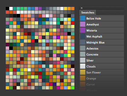 how to set color representation in photoshop cc