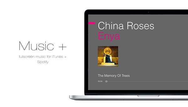 spotify itunes fullscreen UI ios metro player google sofa party simple modern minimal