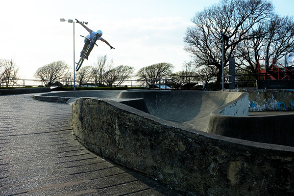 southsea Southse skatepark bmx skateboard how to create