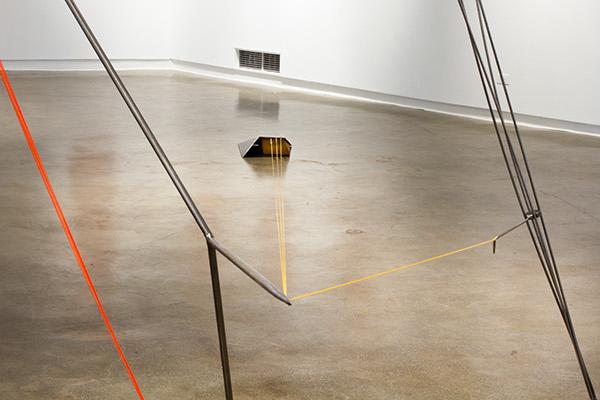 Archery archer sculpture string steel ritual