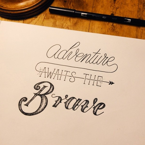 Hand Lettering Vol 6 On Behance