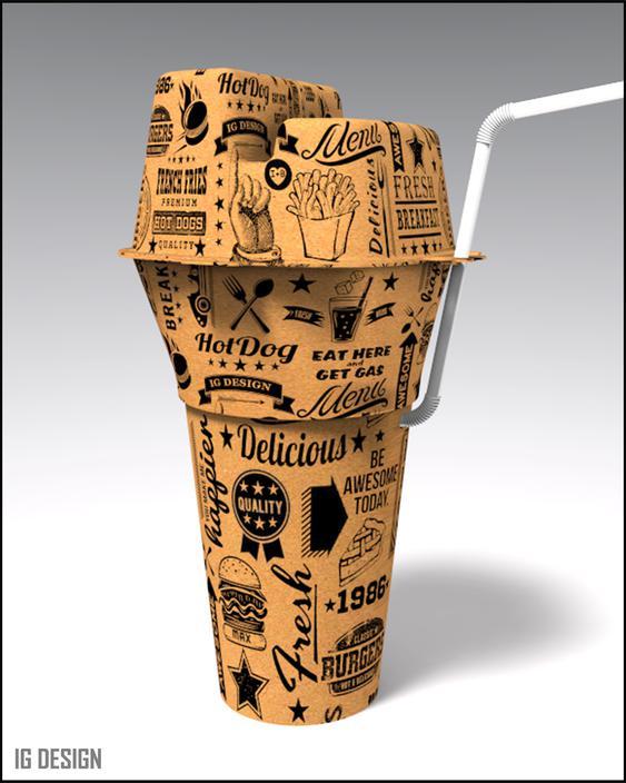 Cool Fast Food Packaging